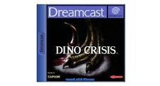 ## Dino Crisis (mit OVP) - SEGA Dreamcast / DC Spiel - TOP ##