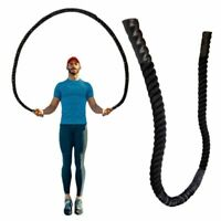 25mm Fitness Heavy Jump Rope Crossfit Skipping Ropes Power Exercise