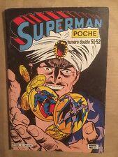 SUPERMAN POCHE (Sagedition) - T51 - 52 : novembre 1981