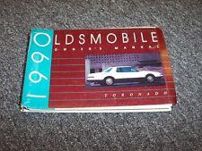 1990 Oldsmobile Toronado Coupe Original Owner Owner's Guide Manual Book 3.8L V6