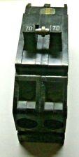 Zinsco Gte Sylvannia 70 amp 2 pole circuit breaker
