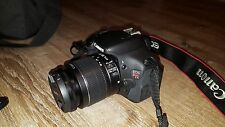 PRISTINE Canon Rebel T3i 18.0 MP DSLR With EF IS II 18-55mm + 50mm 1.8 Lens!