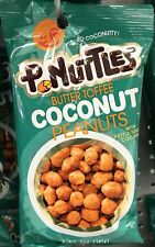 P-Nuttles Butter Toffee Coconut Peanuts, 5 Ounce Bag