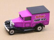 1979 Matchbox Model A Ford Delivery Truck Kellogg's Raisin Bran