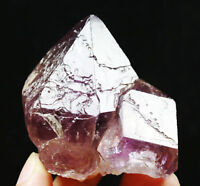 Rare Natural Elestial Scepter Skeleton Crystal Quartz AMETHYST Point Specimen