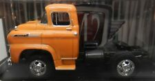 1958 58 LCF BIG RIG TRACTOR TRAILER ORANGE C60 SPARTAN CHEVY TRUCK 10-29 M2