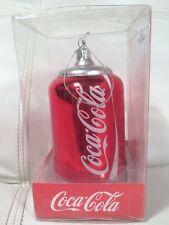 Kurt Adler Coca Cola Coke Can Christmas Tree Ornament NEW!