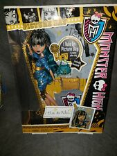 Monster High Picture Day Cleo de Nile Doll New in Box!