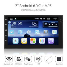 7'' ANDROID 6.0 GPS AUTORADIO 1G+16G HD 2DIN BLUETOOTH 4.0 MP5 FM WIFI TPMS AUTO