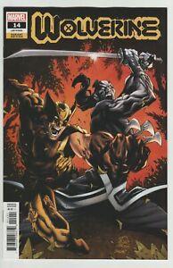 Wolverine #14 (2021) VF 1:25 Stegman Variant Marvel Comics