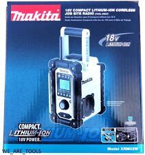 New In Box Makita 18V XRM02W Job Site Cordless Compact Battery Radio LXT 18 Volt
