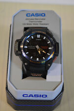 Casio Sgw450h-2b Watch Altimeter Thermometer World Time 100m 5 Alarms Model