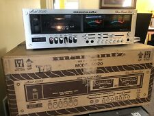 Marantz 5020 Cassette Deck. Original Box with Operators and Service Manual