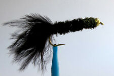 1 x Mouche peche Streamer Dognobbler Noir BILLE H8/10/12 fly fishing trout