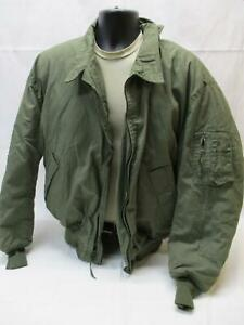 US ARMY TANKER JACKET CVC HIGH TEMP COLD WEATHER OD GREEN X-LARGE/LONG P-84