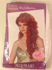California Costumes Collections 70200 Mermaid Wig (Auburn;One Size)