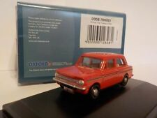 Hillman Imp Firebrand Red 1:76 Oxford Diecast Model Car British