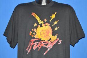 vintage 90s MICROSOFT FURY 3 HARDCORE WINDOWS VIDEO GAME DEADSTOCK t-shirt L