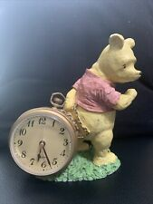 Disney Winnie the Pooh Classic Vintage Charpente Hand Painted Watch Clock Rare