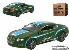 2012 Bentley Continental GT Speed KINSMART Diecast 1:38 Green FREE SHIPPING