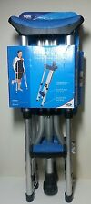 """Carex Folding Crutches Comfort Pads & Grips Adjustable for 4'11""""---6'4"""" A99500"""