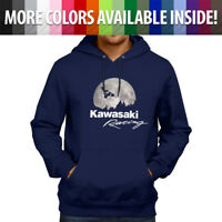 Kawasaki AMA Freestyle Motocross ET Bicycle Scene Pullover Hoodie Hooded Sweater