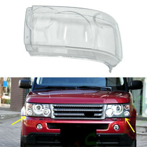 Right Side Headlamp Headlight Lens Cover Fit For Range Rover Sport 2006-2009 Car