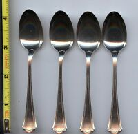 4 Washington Demitasse  Spoons by Wallace Sterling Silver 4-1/4 inch spoon
