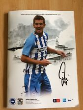 Brighton v Coventry City, Fa Cup 5th Rnd 17th Feb 18, Signed by Uwe Huenemeier+