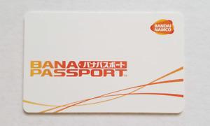 Wangan Maximum Tune 5 - One x Unused Bana Passport IC Card - Basic White Design