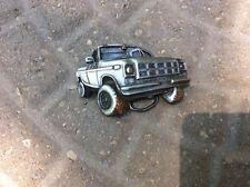 Bergamot 1978 Brass Works Pickup Truck Belt Buckle