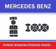 MERCEDES BENZ C230-C300-C350-C63AMG BUTTON DECALS MASTER SET