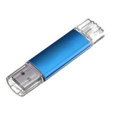 32GB USB Speicherstick OTG Mikro USB Flash Drive Handy PC Blau MA