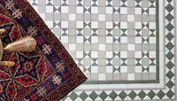 TILE DEALS / SAMPLES Dorset Grey Victorian Vintage Porcelain Wall & Floor Tiles