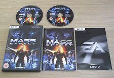 Mass Effect - PC-CD Rom Game - Complete - 1 / Original
