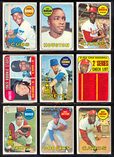 1969 TOPPS OPC O PEE CHEE BASEBALL COMPLETE SET 1-218 Clemente Rose Aaron nm