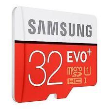 SAMSUNG EVO + (PLUS) 32GB SDHC MICROSD UHS-1 C10 MEMORY CARD 80MB/S