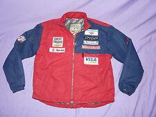 SPYDER US SKI TEAM 2002 vintage retro Jacket Sponsor Patches Small USST USA