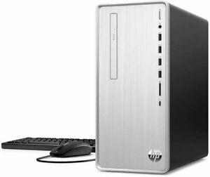 HP Pavilion (256GB, Intel i5 10th Gen, 32GB) Desktop Computer - Natural Silver