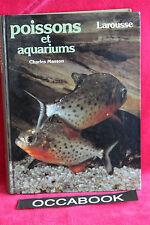 Les poissons et aquariums - Masson