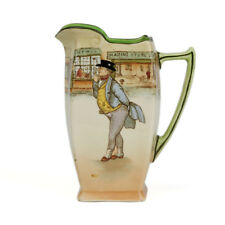 ROYAL DOULTON DICKENS WARE MR PICKWICK JUG NOKE EARLY 20 C.
