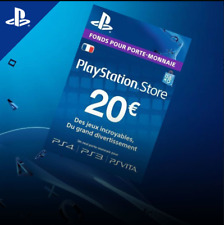 20€ PlayStation Network Gift Card 20 EURO PSN FRANCE✅ FAST DELIVERY ✅