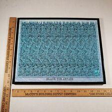 Magic Eye 3D Art Print Optical Illusion - Black Tie Affair