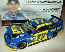 Ricky Stenhouse Jr 2013 Best Buy #17 Rookie Signed Yellow Paint Pen 1/24 NASCAR