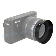 JJC Lens Hood For NIKON 1 NIKKOR AW 10mm f/2.8 & 11-27.5mm f/3.5-5.6 as HN-N103