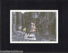 JOKER HIDEOUT INTERIOR CONCEPT PROFESSIONAL MATTED PRINT Animated Batman