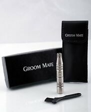 GROOM MATE MENS EAR AND NOSE HAIR TRIMMER CLIPPER BEST For LIFETIME WARRANTY