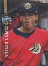 2016 Charleston RiverDogs Anyelo Gomez RC Rookie NY Yankees