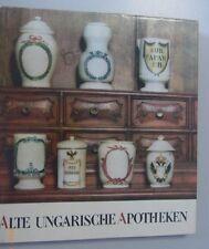 Ungarische Apotheken=Bildband 1969 Schutzumschlag == Deko Einrichtung Gefäße