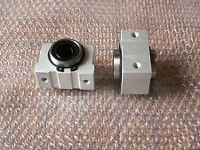 SCV25UU SC25VUU CNC Linear Cylinder Ball Bearing Pellow Block House with LM25UU